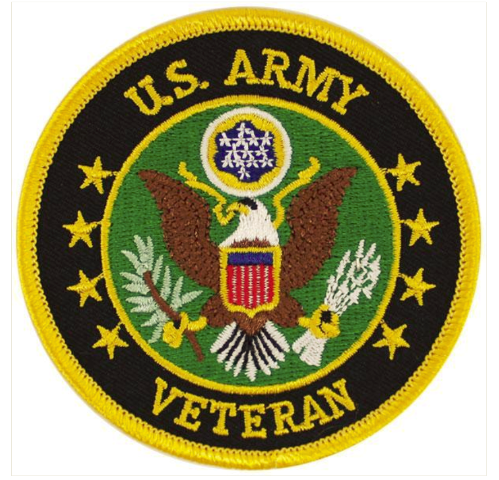 Vanguard VETERAN PATCH: US ARMY
