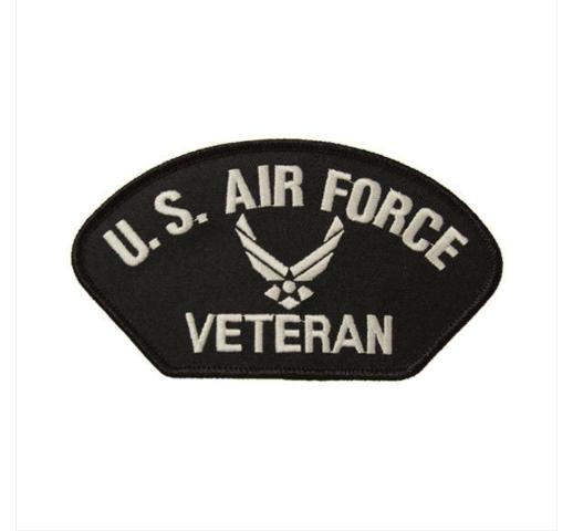 Vanguard VETERAN PATCH: US AIR FORCE