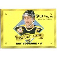 RAY BOURQUE 1995-96 Pinnacle Select Certified Double Strike Gold #3 Card