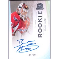 BRADEN HOLTBY 2007-08 The Cup Auto Rookie Card RC /199 Autograph