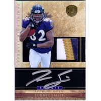 TORREY SMITH 2005 Gold Standard Rookie Auto Jersey Patch Card RC Ravens