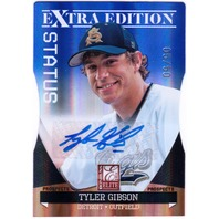 TYLER GIBSON 2011 Elite Extra Edition Prospects Status /50 Rookie Auto Card