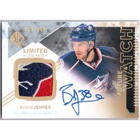 BOONE JENNER 2013-14 SP Authentic Limited /100 Rookie Patch Auto Future Watch