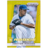 HECTOR RONDON 2013 Panini Prizm Gold Rookie Card #204 10/10