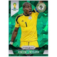 VINCENT ENYEAMA 2014 Prizm FIFA World Cup Nigeria #150 Green Cracked Ice 5/25