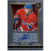 ALEX GALCHENYUK 2013-14 Panini Select #298 Rookie Auto Card 289/399