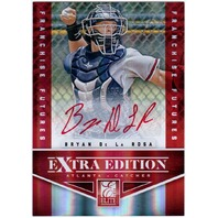 Bryan De La Rosa 2012 Elite Extra Edition Franchise Futures Signatures Red Auto