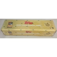 2001 Topps Baseball Gold Box Set