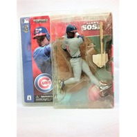2002 Sammy Sosa Gray Grey Jersey Variant McFarlane's Sportspick Figure Series 1 Chicago Cubs MLB Major League Baseball