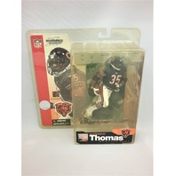 2002 Anthony Thomas McFarlane  Action Figure Debut Rookie Chicago Bears Series 5