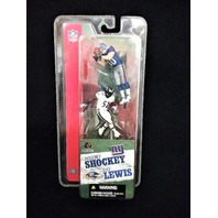 2004 Jeremy Shockey New York NY Giants Ray Lewis Baltimore Ravens McFarlane's Sportspicks Minis NFL 3 inch scale