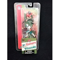 2004 Mike Alstott Tampa Bay Buccaneers RIcky Williams Miami Dolphins McFarlane's Sportspicks Minis NFL 3 inch scale