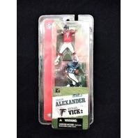 "2004 Shaun Alexander Seattle Seahawks Michael Vick Atlanta Falcons McFarlane 3"""