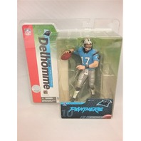 2004 Jake Delhomme NFL Variant McFarlane Series 10 Carolina Panthers Blue Jersey