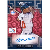 BYRON BUXTON 2015 Topps Bowman Industry Summit Auto Signed Card 2/10 Autograph