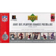 2005 Upper Deck Rookie Premiere NFL Players Box Set (Sealed)