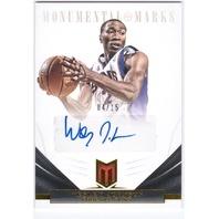 WESLEY JOHNSON 2012-13 12/13 Momentum Monumental Marks Autograph 4/15 Auto Card