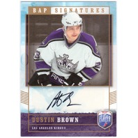 DUSTIN BROWN 2006-07 Upper Deck Be A Player Signatures BAP Signed Card