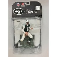 2008 Brett Favre White McFarlane Figure NFL New York NY Jets Green Jersey
