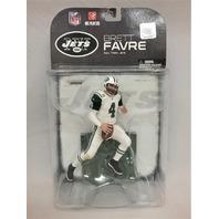 2008 Brett Favre Green McFarlane Figure New York NY Jets NFL White Jersey