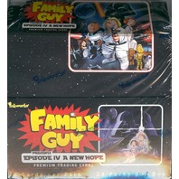 "2008 Family Guy ""Episode IV: A New Hope"" Inkworks Box (Sealed)"