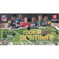 2008 Upper Deck Rookie Premiere NFL Players Box Set (Sealed)