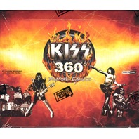 2009 Press Pass KISS 360 Degrees Trading Card 24 Pack Sealed NEW Box