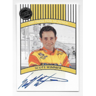 Scott Wimmer NASCAR 2003 Press Pass Signings auto Autograph
