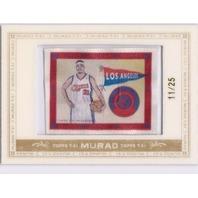 RICKY DAVIS 2008-09 Topps T51 Murad 11/25 Framed Mini Silk Card #116 LA Clippers