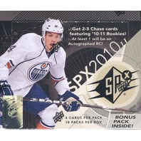 2010/11 Upper Deck SPx Hockey Hobby Box (Sealed)