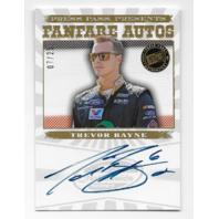 Trevor Bayne NASCAR 2013 Press Pass Fanfare auto /25 Autograph