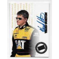 Ward Burton NASCAR 1999 Press Pass Authentics signings auto /500 Autograph