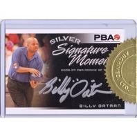 BILLY OATMAN 2008 Heroes Legends Bowling Signature Moments 67/300 Auto Card PBA