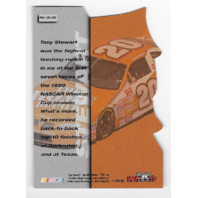 Tony Stewart NASCAR 1999 Wheels Runnin' n Guunnin' die-cut /35