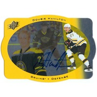 DOUGIE HAMILTON 2013-14 SPx 96-97 SPx Retro Autographs #ARDH Auto On Card