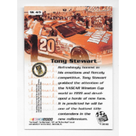 Tony Stewart NASCAR 1999 Press Pass Authentics Skidmarks /9