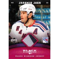 JAROMIR JAGR 2006-07 Black Diamond 2-Color Game Jersey Ruby Parallel /100 #JJJ