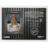 Bobby Allison NASCAR 2009 Press Pass Legends Racing Artifacts swatch /50