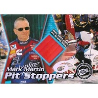 MARK MARTIN 2000 Press Pass Trackside Pit Stoppers Race Board Sign 67/200 Card