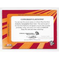 Ricky Craven NASCAR 2004 Press Pass Authentics auto blue Autograph