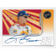 Ricky Craven NASCAR 2004 Press Pass Authentics auto blue Autograph
