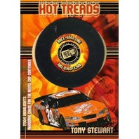 TONY STEWART 2005 Press Pass Hot Treads Race Used Tire Card 21/100 Holofoil