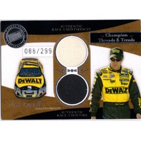 MATT KENSETH 2006 Legends Champion Threads Treads Silver Race Tire Firesuit /299