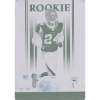 JIMMY WILLIAMS 2006 Donruss Gridiron Gear Magenta Printing Plate 1/1 Card #161