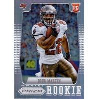 DOUG MARTIN 2012 Panini Prizm Prizms #212B SP Rookie Refractor Parallel Card