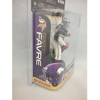 2010 Brett Favre McFarlane's Sportspicks Figure NFL Series 25 Minnesota Vikings Going Retro Special Edition Vikings Vintage Uniform