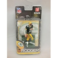 2010 Aaron Rodgers Elite McFarlane Figure NFL Elite Series 2 Green Bay Packers