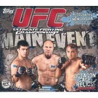 2010 Topps UFC Main Event Hobby Box (Sealed)