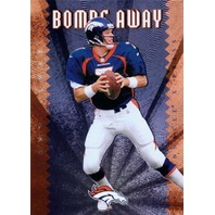 JOHN ELWAY 1997 Pinnacle X-Press Bombs Away Insert Card #7