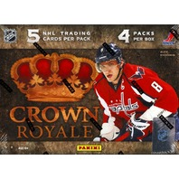 2011/12 Panini Crown Royale Hockey Hobby 4-Pack Box (Factory Sealed) 11/12